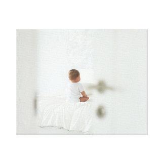 Impressão Em Tela O bebê está esperando-o