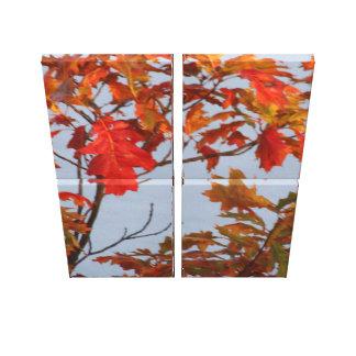 Impressão Em Tela O Outono
