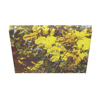 Impressão Em Tela Outono em matiz amarelas