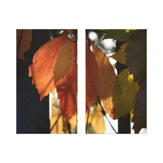 Impressão Em Tela Outono em Toscânia (foto de alta qualidade em
