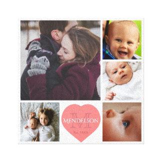 Impressão Em Tela Pai e miúdos da mamã