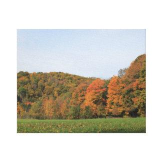 Impressão Em Tela Paisagem 2016 do outono de Vermont