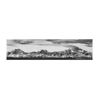 Impressão Em Tela Panorama da escala de Alaska
