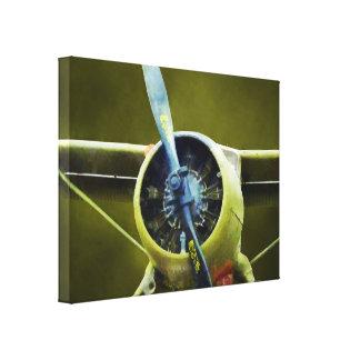 Impressão Em Tela Plano - castor de DeHavilland U-6A