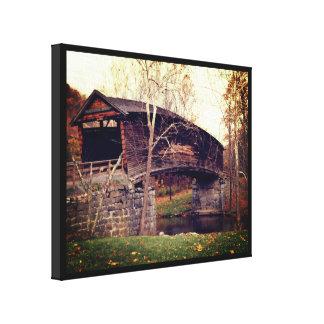 Impressão Em Tela Ponte coberta