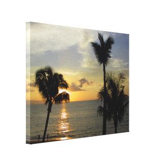 Impressão Em Tela Por do sol de Maui