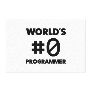Impressão Em Tela Programador do #0 do mundo