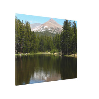 Impressão Em Tela Reflexão do lago Yosemite