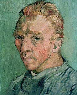 69562b2b7c3 Impressão Em Tela Retrato de auto de Vincent van Gogh