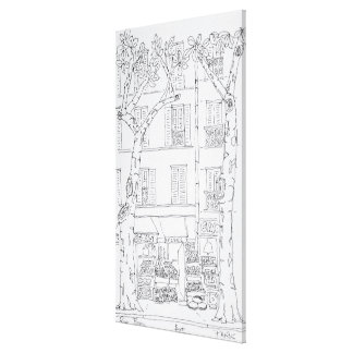Impressão Em Tela Rua Brea da mercearia |, Paris, France