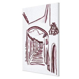 Impressão Em Tela Santo-Guilhem-Le-Deserto arqueado da passagem |,