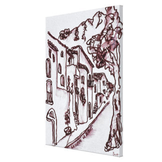 Impressão Em Tela Santo-Guilhem-Le-Deserto das casas |, France