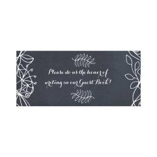 Impressão Em Tela Série floral delicada do casamento do quadro
