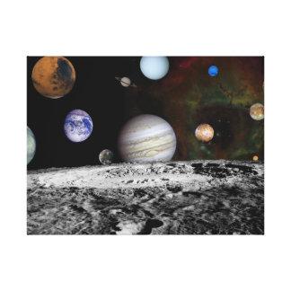 Impressão Em Tela Sistema solar novo