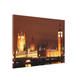 Impressão Em Tela Skyline de Londres do europeu