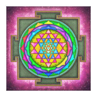 Impressão Em Tela Sri Yantra - Artwork VII-V