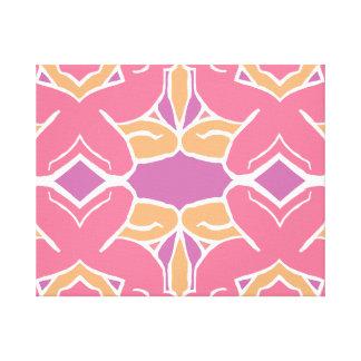 Impressão Em Tela Tessellation fêmea abstrato do formulário