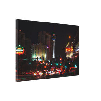 Impressão Em Tela Vegas Paradise Road