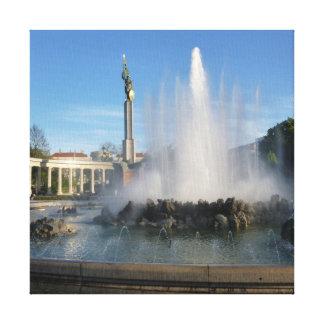 Impressão Em Tela Viena - monumento de herói do exército Vermelho