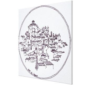 Impressão Em Tela Vila de Haut de Cagnes | Provence, France