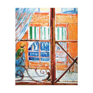 Impressão Em Tela Vincent van Gogh - loja de carniceiros de uma