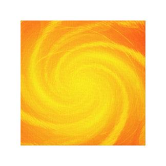 Impressão Em Tela Vortex solar de Sun