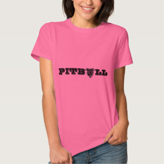 Impressão feliz do logotipo de Pitbull - Tshirt