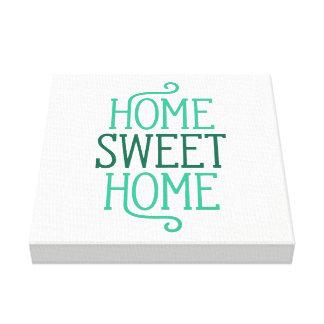Impressão Home doce Home das canvas