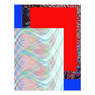 Impressão mergulhado 1 flyer 21.59 x 27.94cm