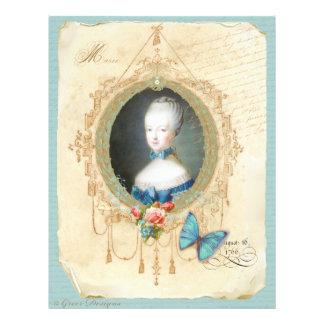 Impressão novo da borboleta da rainha Marie Antoin Panfletos Coloridos