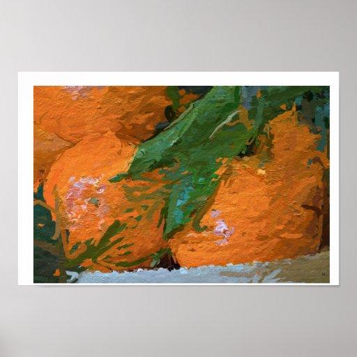 Impressão original do poster das clementina