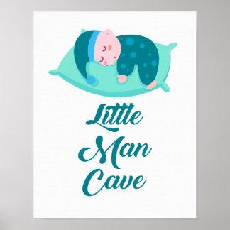 Impressão pequeno do poster do bebé da caverna do