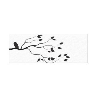 Impressão preto e branco à moda simples das canvas impressão em tela