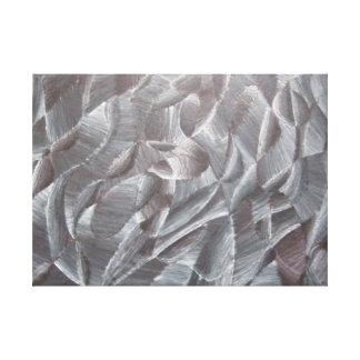 Impressão preto e branco abstrato das canvas impressão em tela