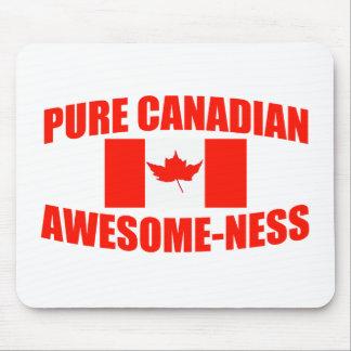 Impressionante-Ness canadense puro Mousepads