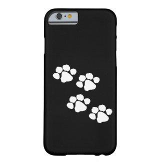 Impressões animais da pata capa barely there para iPhone 6