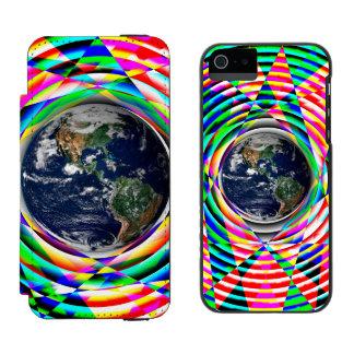 Impressões da terra capa carteira incipio watson™ para iPhone 5