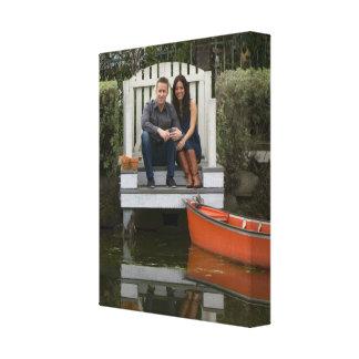 Impressões personalizados das canvas da foto