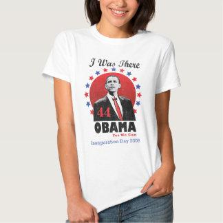 Inauguração Obama - 44o presidente Tshirts