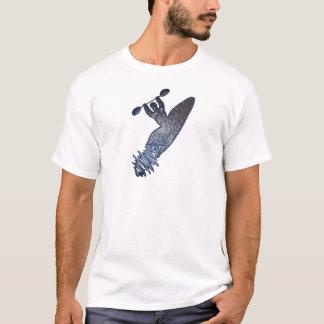 Incandescência do caiaque camisetas