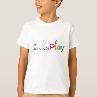 Incentive o t-shirt do jogo para miúdos