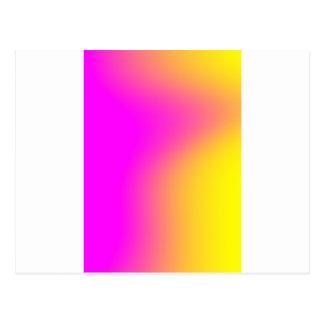 Inclinação amarelo cor-de-rosa cartão postal