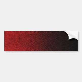 Inclinação vermelho & preto de Falln do brilho Adesivo Para Carro