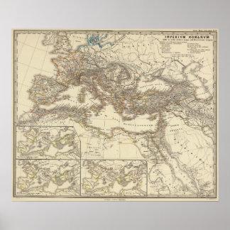 Inde de Romanum do império um bello Poster