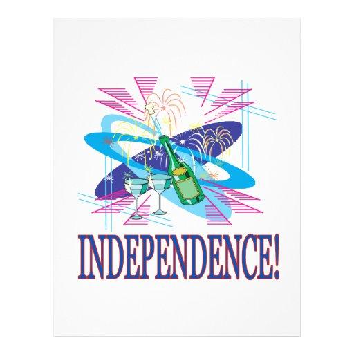Independência Panfleto Personalizados