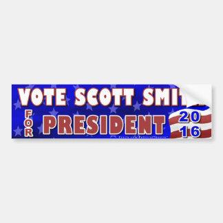 Independente 2016 do presidente eleição de Scott Adesivo Para Carro