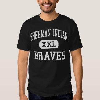 Indiano de Sherman - Braves - alto - beira-rio Camisetas