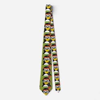 Indiano do pinguim gravata