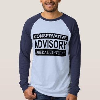 Índice liberal adiante t-shirt