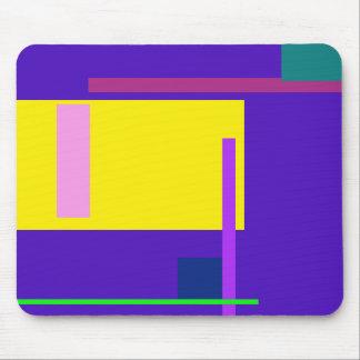 Índigo artístico do espaço mousepads